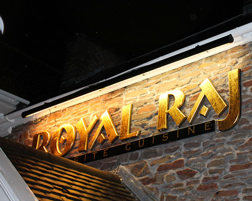 Royal Raj Indian Restaurant in Winterbourne Bristol