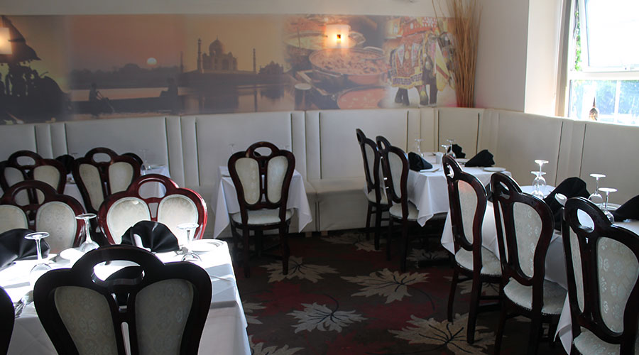 The Royal Raj Indian Restaurant in Winterbourne Bristol